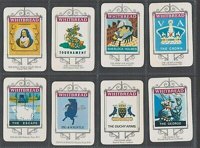 £40 • Buy 1973 Whitbread Inn Signs London Series Of 15 - Select The Cards You Need