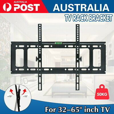 AU16.99 • Buy TV Wall Mount Bracket LCD LED Plasma Flat Slim 32 42 47 50 52 55 60 65 70 Inch