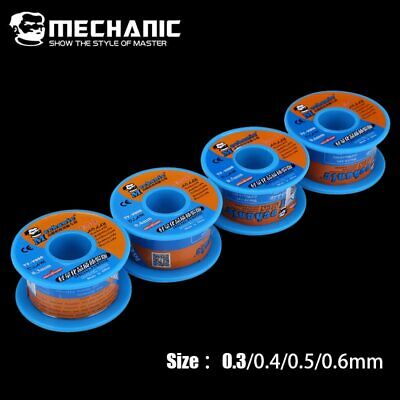 $6.20 • Buy MECHANIC Rosin Core Solder Tin Wire 40g 0.3/0.4/0.5/0.6mm Low Melting Point