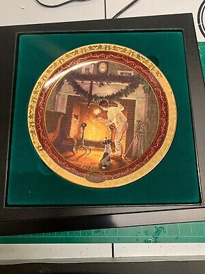 $ CDN17.62 • Buy  Is He Up There?  2005 Plate- Norman Rockwell's Christmas Memories, NIB