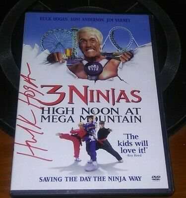 $ CDN53.13 • Buy 3 NINJAS HIGH NOON  Hulk Hogan WWF WWE DVD SIGNED AUTOGRAPHED NICE AUTOGRAPH !!