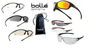 £12.94 • Buy Bolle Safety Glasses Spectacles Goggles Various Types Protection Case Pouch Bag