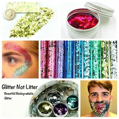Biodegradable Glitter Childrens Arts & Craft Bio Safe. Cardmaking, Bioglitter. • 2.99£
