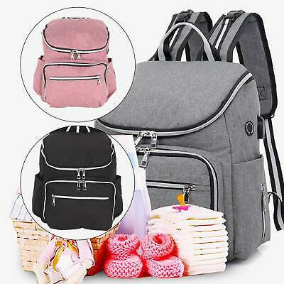 AU25.95 • Buy 2020 GENUINE LAND Multifunctional Baby Diaper Backpack Changing Bag Nappy Mummy