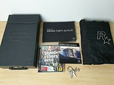 AU119.90 • Buy Grand Theft Auto IV 4 GTA Special Edition Safe Deposit Box PS3 PlayStation 3 AUS