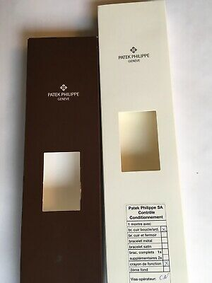 $60 • Buy Patek Philippe Geneve Brown Watch Shipping Box For 5135G