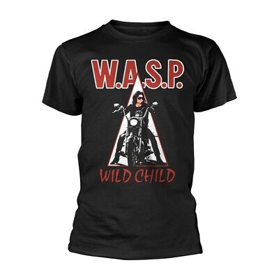 £14.99 • Buy WASP 'Wild Child' T Shirt - NEW W.A.S.P.