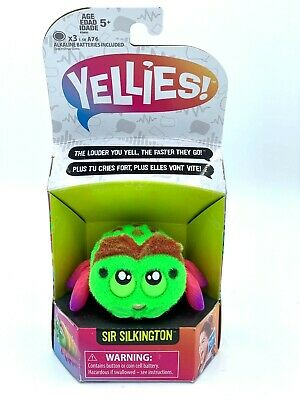 $8.99 • Buy Yellies Sir Silkington Voice Activated Spider Pet Toy For Kids Grab Bag Gift NEW