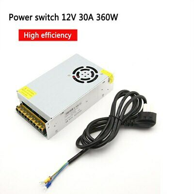 12V 30A 360W  Charger Power Supply For UNA6 UNA9 CB86 ISDT T6 T8 Smart LIPO • 42.99£