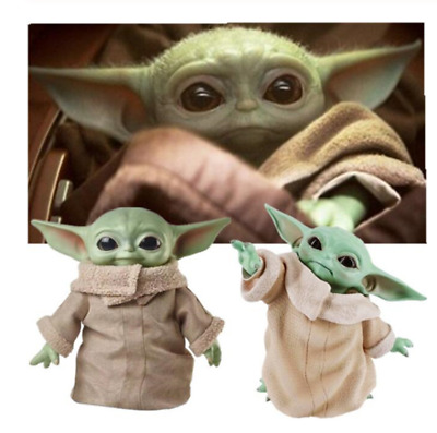 $14.99 • Buy Star Wars Baby Yoda Action Figure The Force Awakens Figure PVC Model Toy 15 Cm