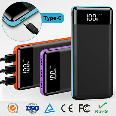 View Details Portable 500000mAh External Power Bank Pack 3USB Battery Charger Fr Mobile Phone • 23.99£