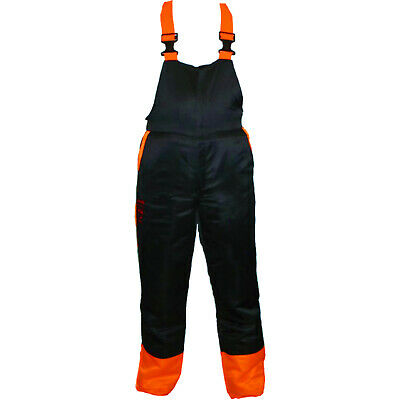 £57.79 • Buy Chainsaw Bib Brace Trousers Dungarees Forestry Safety Protective Large 34/38