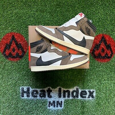 "$899 • Buy Air Jordan 1 High OG TS SP ""Travis Scott"" Size 14"
