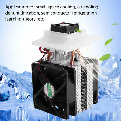£34.13 • Buy 1pcs Thermoelectric Peltier Refrigeration Cooling System Cooler Fan Replacement