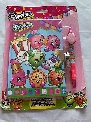 AU28.47 • Buy Brand New Shopkins Diary With Pen And Lock