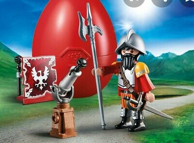 Playmobil 70086 Easter Egg Knight With Canon 16 Pieces • 4.95£