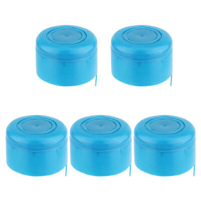 $ CDN3.76 • Buy 5Pcs Barrelled Bottled Water Sealing Caps Covers Lid Reusable Fit 3 And 5 Gallon