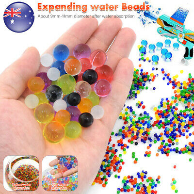 AU5.59 • Buy 50000Pcs Orbeez Water Beads Balls Mini Crystal Jelly Gel Soil Plant Vase Wedding