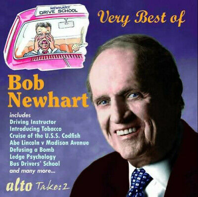 Bob Newhart - Very Best Of - NEW CD  Driving Instructor, Bus Driver School  • 6.99£