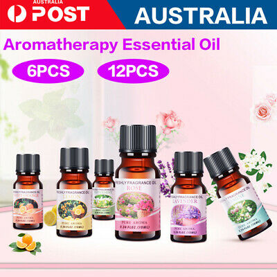 AU15.19 • Buy 6/12x Essential Oils 100% Pure & Natural Aromatherapy Diffuser Essential Oil Set