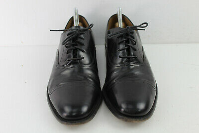 £53.50 • Buy CHARLES TYRWHITT Black Leather Lace Up Oxford Shoes Size Eu 41.5