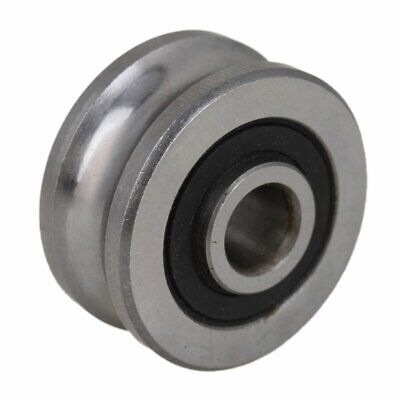 $7.97 • Buy U Groove Sealed Ball Bearing SG25 8x30x14mm Wire Track Guide Pulley Bearing