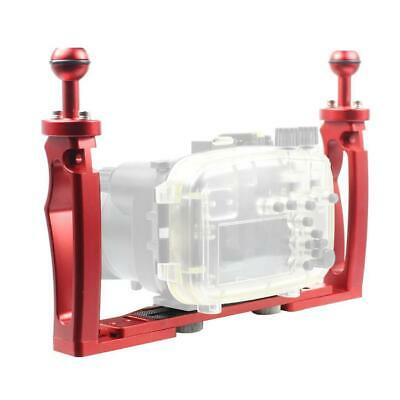 Underwater Camera Tray, Aluminum Underwater Tray W/ 1  Ball For Underwater, Red • 48.36£