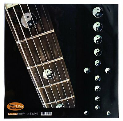Yin & Yang Fret Markers Inlay Stickers Decal Guitar • 12£