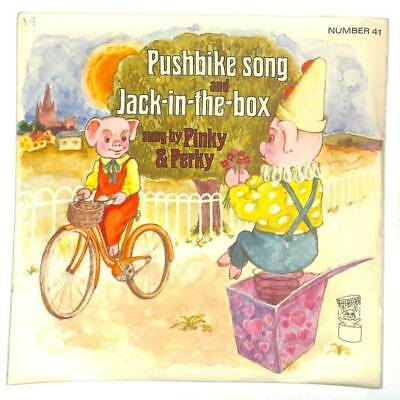 Pinky & Perky - Pushbike Song And Jack-In-The-Box - 7  Vinyl Record • 4.50£