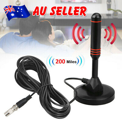 AU18.95 • Buy New Portable Indoor Outdoor TV Antenna Digital Freeview Aerial Ariel HDTV