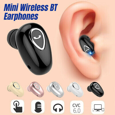 AU13.35 • Buy Mini Wireless Bluetooth Earphones In Ear Invisible Earbuds Headset IOS Android