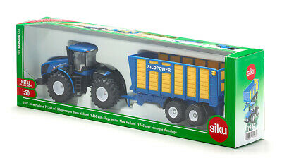 1947 SIKU NEW HOLLAND WITH SILAGE TRAILER Mini Diecast Model Scale 1:50 3 Years+ • 26.13£