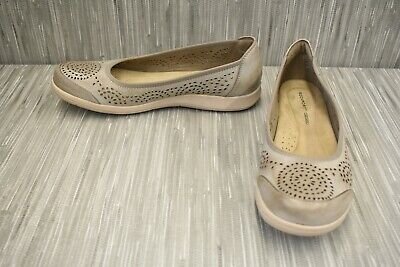**Rockport Daisey Pump CH4566 Flats, Women's Size 10 M, Taupe • 17.04£