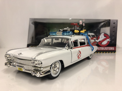 Ghostbusters ECTO-1 1:24 Scale Diecast Model Jada 99731 New • 32.99£