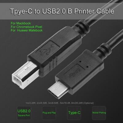 AU4.38 • Buy USB 2.0 Printer Cable - A-Male To B-Male Cord - 6  NEW