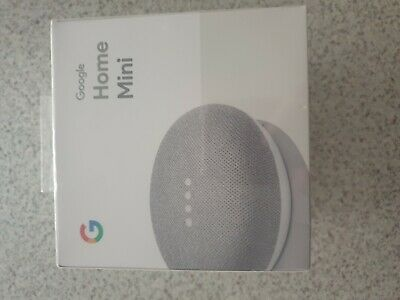 AU34.95 • Buy BNIB  Sealed Google Home Mini Smart Speaker & Home Assistant Chalk RRP$58