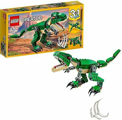 £13 • Buy NEW - LEGO Creator 3 In 1 Mighty Dinosaurs Building Set 31058
