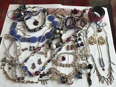 Vintage And Modern Jewellery Joblot Collection Bundle All Wearable  • 3.99£
