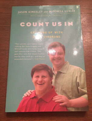 Count Us In : Growing Up With Down Syndrome By Jason Kingsley And Mitchell... • 4.30£