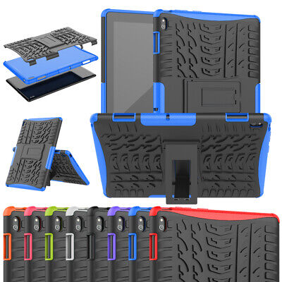 AU24.95 • Buy Heavy Duty Hard PC+TPU Stand Case Cover For Lenovo Tab E10 TB-X104 10.1'' Tablet