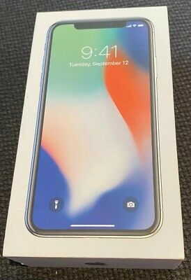 AU500 • Buy Apple IPhone X - 256GB - Silver (Unlocked) A1865 (CDMA + GSM) (AU Stock)