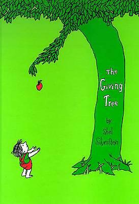 The Giving Tree By Shel Silverstein (English) Hardcover Book Free Shipping! • 18.52£
