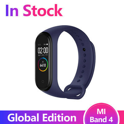 $29.99 • Buy Original Xiaomi Mi Band 4 Smart Miband Newest Music Bracelet Heart Blutooth Blue