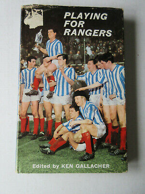 £16.65 • Buy Playing For Rangers By Gallacher, Ken HARDCOVER 1964 GLASGOW RANGERS