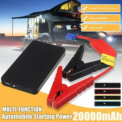 View Details 20000mAh Car Jump Starter Pack Booster Battery Charger Emergency Power Bank UK • 23.96£
