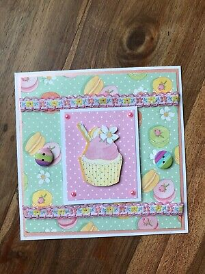 Beautiful Handmade 3d Birthday/any Occasion Card Topper! • 0.99£