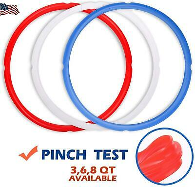 $11.69 • Buy Silicone Sealing Rings For Instant Pot Accessories Fits 5 Or 6 Quart C32bbd