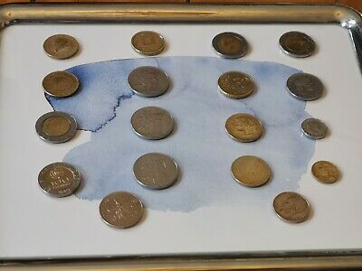 Selection Of Foreign Coins X 18 • 0.99£