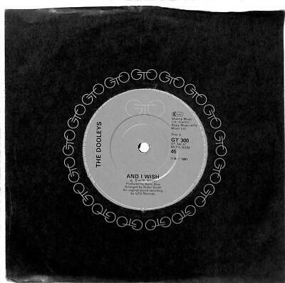 The Dooleys - And I Wish - 7  Record Single • 2.69£