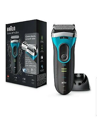 View Details Braun Series 3 ProSkin 3080s Electric Shaver, Wet And Dry Electric Razor For Men • 59.49£